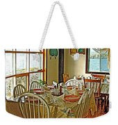 Bed And Breakfast Over The Water At Fishing Point In Saint Anthony-nl Weekender Tote Bag