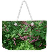 Bed Of Bleeding Hearts Weekender Tote Bag