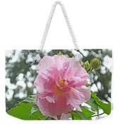 Bedazzled By The Light Louisiana Confederate Rose Weekender Tote Bag