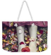 Bedded In Petals Weekender Tote Bag