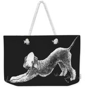 Bedlington Terrier Weekender Tote Bag