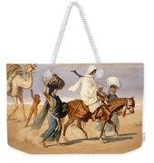 Bedouin Family Travels Across The Desert Weekender Tote Bag