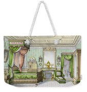 Bedroom In The Renaissance Style Weekender Tote Bag