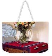 Bedside Desert Roses Palm Springs Weekender Tote Bag