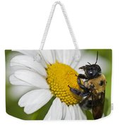 Bee And Daisy Weekender Tote Bag