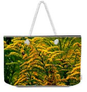 Bee And Goldenrod Weekender Tote Bag