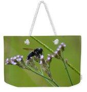 Bee Blue Weekender Tote Bag