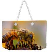 Bee Covered In Pollen Weekender Tote Bag
