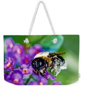 Super Bee Covered With Pollen Weekender Tote Bag