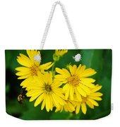 Bee Flower Weekender Tote Bag