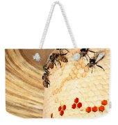 Bee Hive Weekender Tote Bag