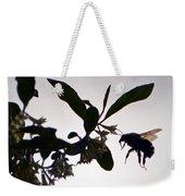 Bee In Flight  Weekender Tote Bag