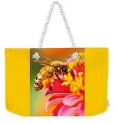 Bee Laden With Pollen Weekender Tote Bag
