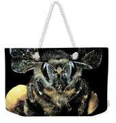 Bee Loaded With Pollen Weekender Tote Bag