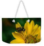 Bee On A Quest Weekender Tote Bag