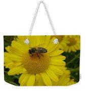 Bee On Daisy Weekender Tote Bag