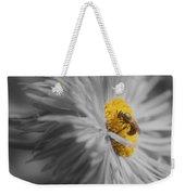 Bee On Daisy Flower Weekender Tote Bag