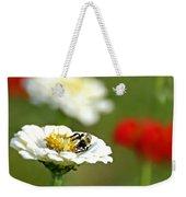 Bee Red-y Weekender Tote Bag