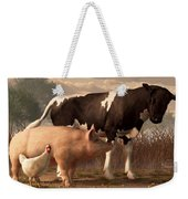 Beef Pork And Poultry  Weekender Tote Bag