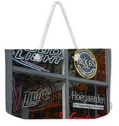 Beer And Boar's Head Weekender Tote Bag