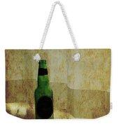 Beer Bottle On Windowsill Weekender Tote Bag