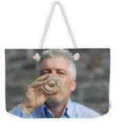 Beer Drinker Weekender Tote Bag
