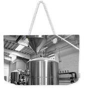 Beer Tank Install Weekender Tote Bag