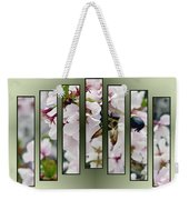 Bees And Blossoms Weekender Tote Bag