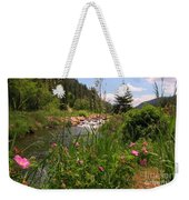 Bees Eye View Weekender Tote Bag
