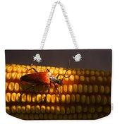 Beetle On Corn Ear Weekender Tote Bag