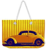 Beetle Pop Gold Weekender Tote Bag