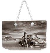 Beetles At The Beach Weekender Tote Bag