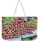 Beets At The Farmers Market Weekender Tote Bag