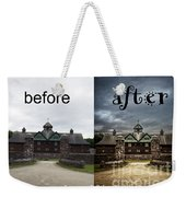 Before And After Weekender Tote Bag by Edward Fielding