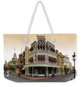 Before The Gates Open Magic Kingdom Main Street. Weekender Tote Bag