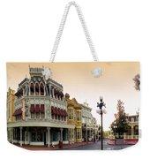 Before The Gates Open Main Street Magic Kingdom Weekender Tote Bag