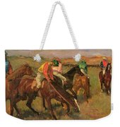 Before The Races Weekender Tote Bag