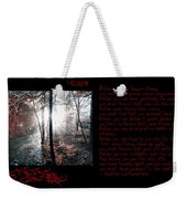 Before You Can Weekender Tote Bag by Bill Cannon
