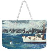 Behind The Breakwall Weekender Tote Bag