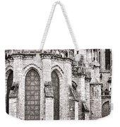 Behind The Cathedral Weekender Tote Bag