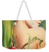 Behind The Curtain Of Colours -the Tulip Weekender Tote Bag
