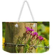 Behind The Fence Weekender Tote Bag