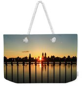 Behind The Gates Weekender Tote Bag