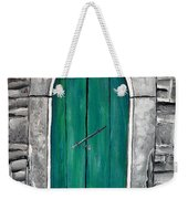 Behind The Green Door Weekender Tote Bag