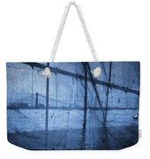 Behind The Veil - New York City Weekender Tote Bag