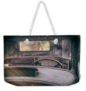 Behind The Wheel Weekender Tote Bag