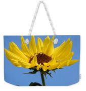 Bright Yellow Happy Sunshine Weekender Tote Bag