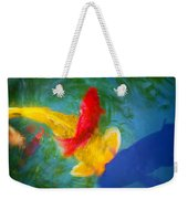 Being Koi Too Weekender Tote Bag