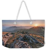 Sunset From Beinn Ghlas - Scotland Weekender Tote Bag