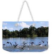 Belconnen Lake Weekender Tote Bag